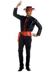 Costume da ballerino di flamenco per adulto