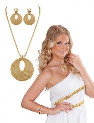 Collana e orecchini da nobile romana per donna