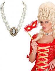 Collana di perle barocca donna