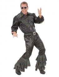 Pantalone disco con brillantini per uomo
