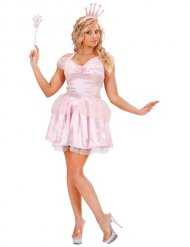 Costume regina delle fate rosa per donna