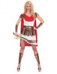 Costume da gladiatrice romana per donna