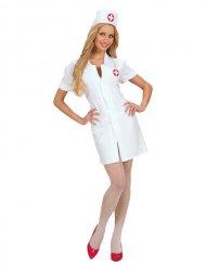 Costume bianco da infermiera sexy per donna