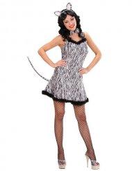 Costume da Zebra sexy per donna