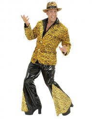 Pantaloni tigrati discoteca anni