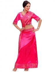 Costume da ballerina Bollywood rosa per donna