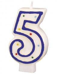 Candela di compleanno 5