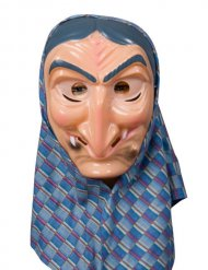 Maschera da strega tradizionale per adulto
