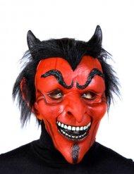 Maschera da diavolo in latex per halloween