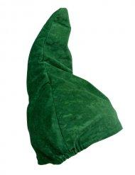 Cappellino da nano verde a punta