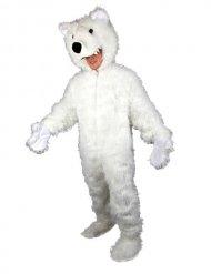 Costume orso polare bianco adulto