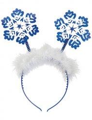 Cerchietto fiocco di neve di natale
