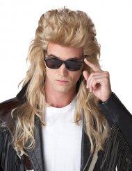 Parrucca bionda cotonata anni