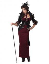 Costume da vampira gotica per donna Halloween