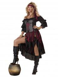 Costume da pirata per donna premium