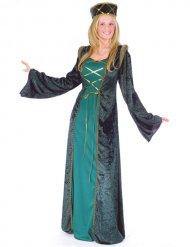 Costume medievale da cortigiana per donna