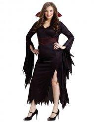 Costume da vampiro per donna in taglia grande