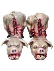 Copriscarpe maiali per Halloween