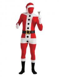 Costume da Babbo Natale seconda pelle per adulto