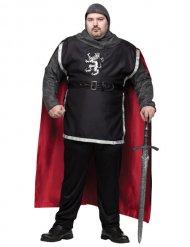 Costume da cavaliere medievale per uomo taglie forti