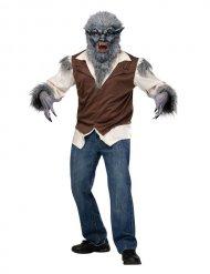 Costume da lupo mannaro per adulto halloween