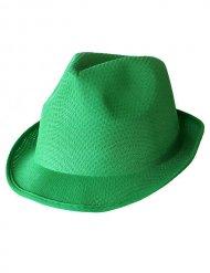 Cappello borsalino verde