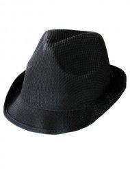 Cappello borsalino trilby nero