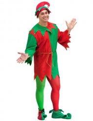 Costume da Elfo di Natale per uomo