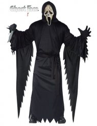 Costume da assassino in nero halloween