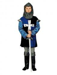 Costume da Cavaliere Blu con armatura per bambino
