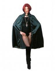 Mantello da vampiro nero per adulto halloween