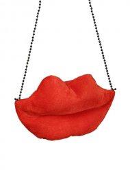 Borsa bocca rossa