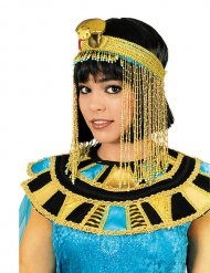 Copricapo da cleopatra dorato per donna