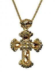 Collana con croce gotica adulto