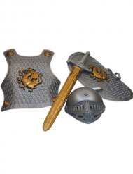 Kit accessorio cavaliere medievale per bambino