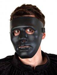 Maschera nera da fantasma  per adulto