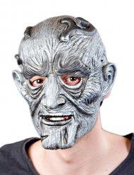 Maschera da mostro di Halloween grigia