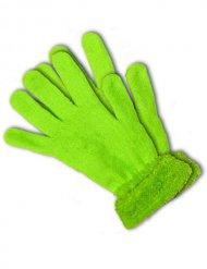 Guanti verde fluo UV per adulto