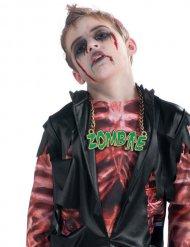 Collana Zombie Verde Halloween