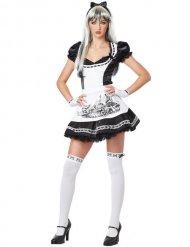 Costume da cameriera gotica per donna halloween