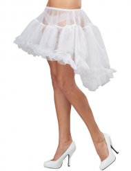 Sottogonna burlesque bianco