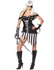 Costume da piratessa gotica per donna