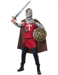 Costume cavaliere scheletro per uomo halloween