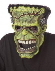 Maschera animata mostro verde Ani-Motion™ per adulto