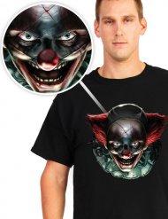 Maglia clown assassino halloween