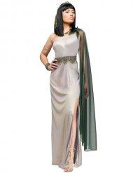 Costume da Cleopatra argento per adulto