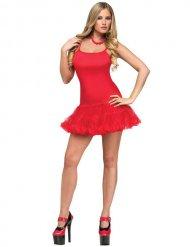 Costume da ballerina rosso per donna