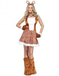 Costume cerbiatto sexy donna