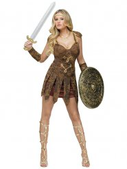 Costume da gladiatrice voluttuosa per donna