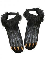 Copri scarpe piedi da lupo mannaro